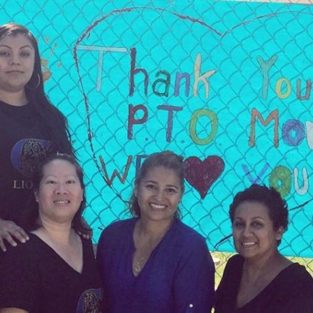We thank P.T.O. mothers for everything they do for our students!