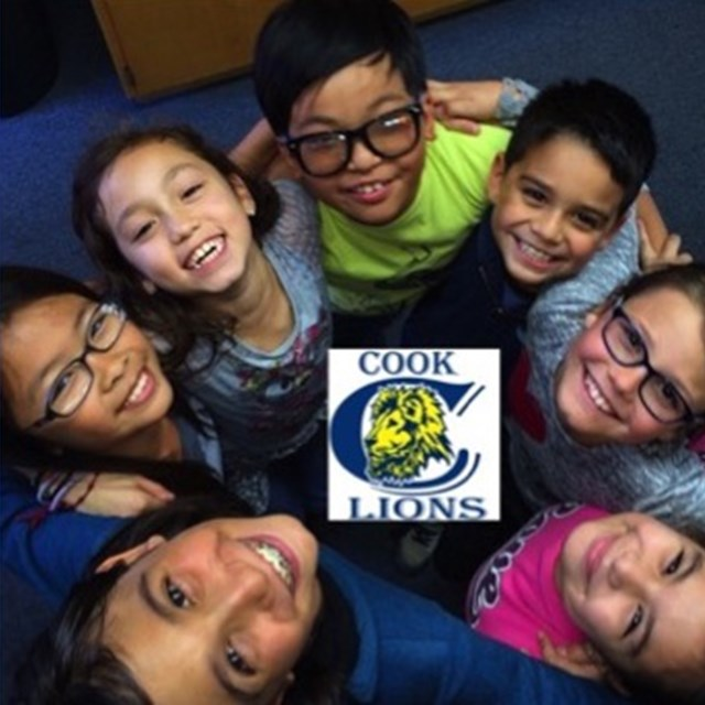 Our Cook Lions promote friendship and help each other become passionate scholars!