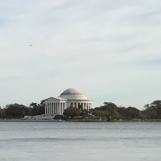 The Thomas Jefferson Memorial is quite the distance, but well worth it!