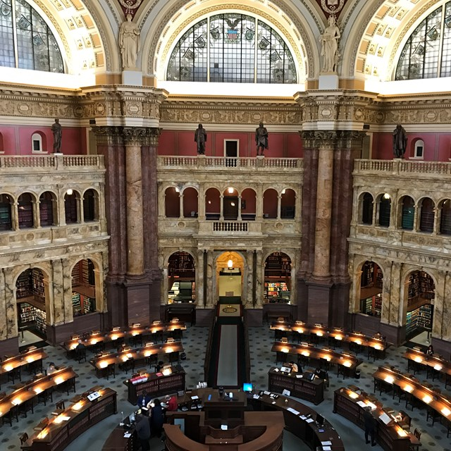 The Library of Congress has plenty of amazing sights to spectate!