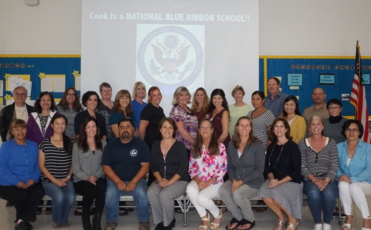 Cook Receives National Blue Ribbon Award! - article thumnail image