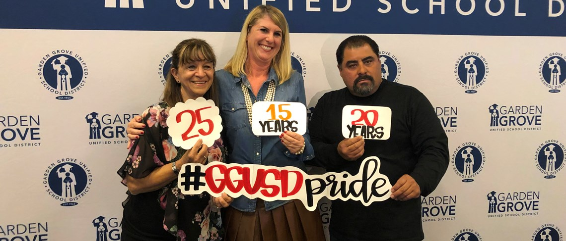 GGUSD years of service