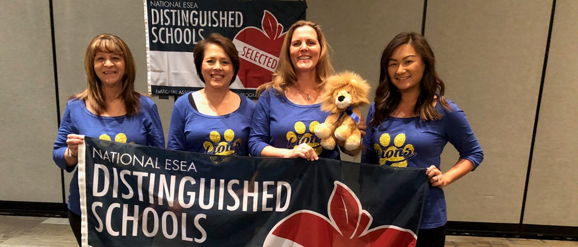Cook Awarded ESEA National Distinguished School