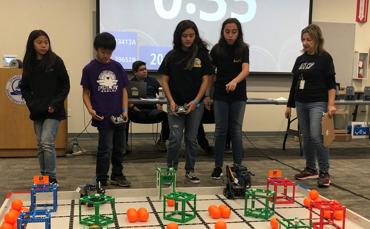 Cook Robotic Squad Competes in Vex IQ - article thumnail image